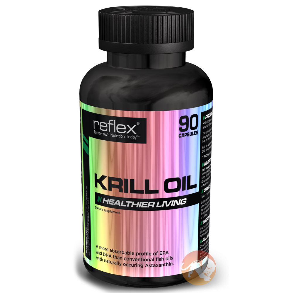 Reflex krill oil free gifts p p predator nutrition for Fish oil recommendations