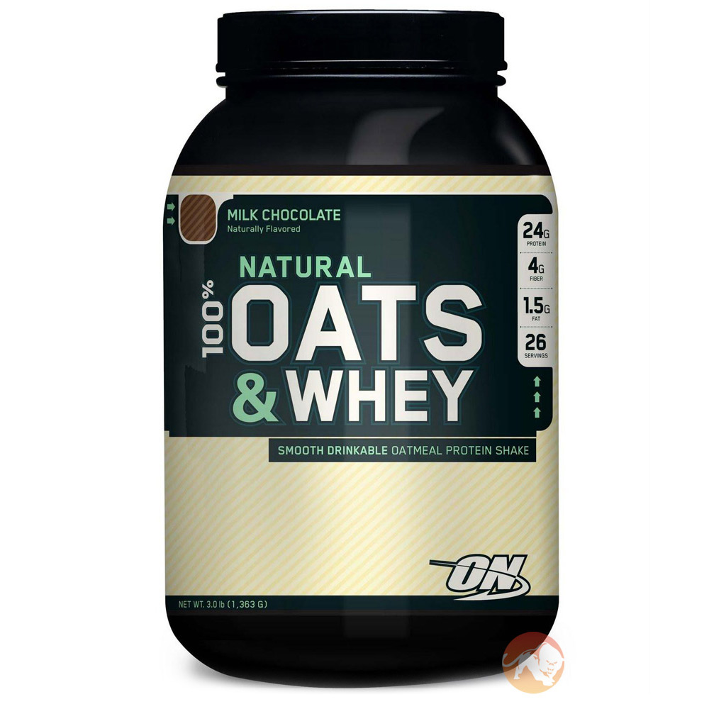Whey protein and oatmeal