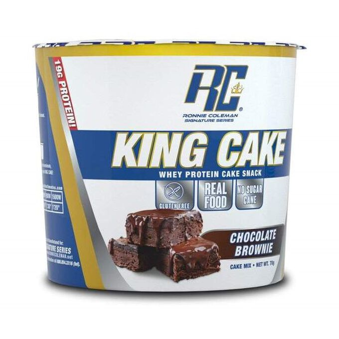 Ronnie Coleman SignatureSeries King Protein Cake 6 Cakes Chocolate Brownie