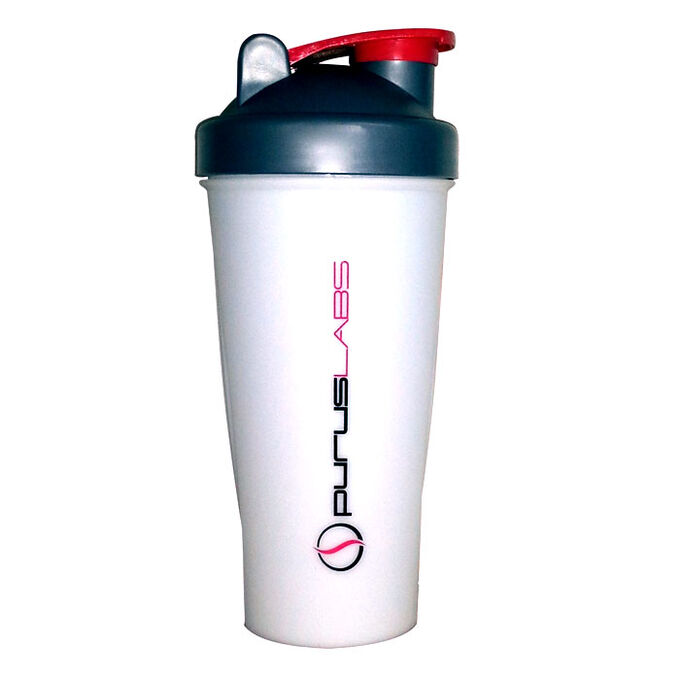 Purus Shaker Bottle Grey/ White