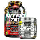 Nitro-Tech 100% Whey Gold 2.51kg Cookies and Cream