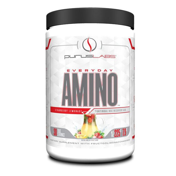 Purus Labs Everyday Amino 30 Servings  Natural Blackberry Cherry