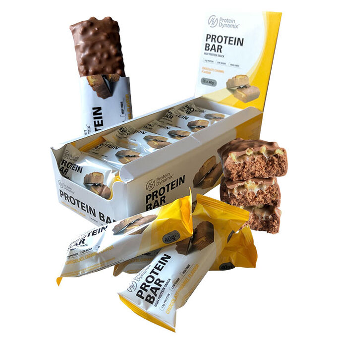 Protein Dynamix Protein Bars 18 Bars  Cookies & Cream