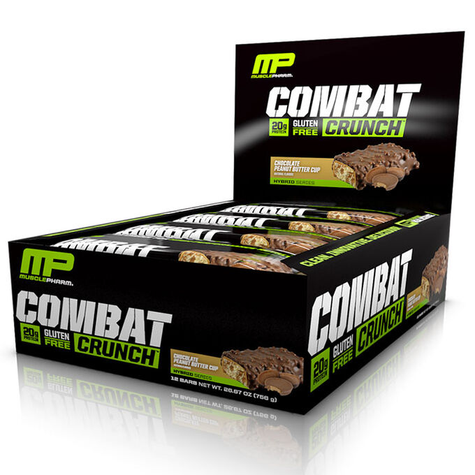 Combat Crunch Bars 12 Bars-Chocolate Peanut Butter Cup