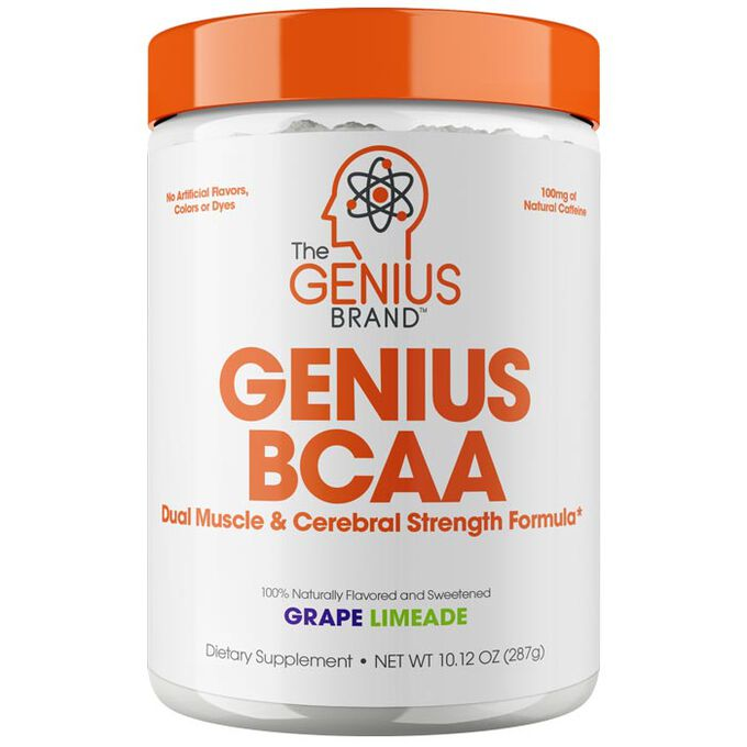 The Genius Brand Genius BCAA 21 Servings Grape Limeade