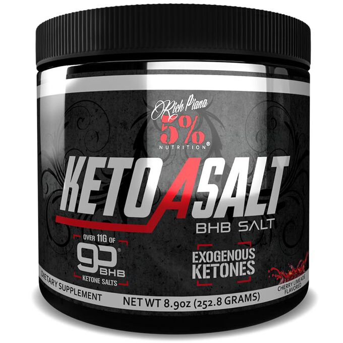 5% Rich Piana Keto aSALT 16 Servings Cherry Limeade