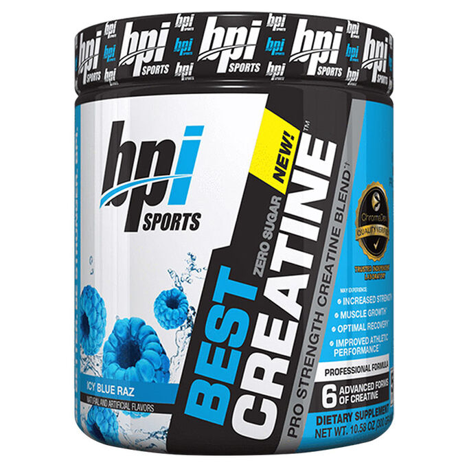 BPI Sports Best Creatine 50 Servings Blue Raspberry