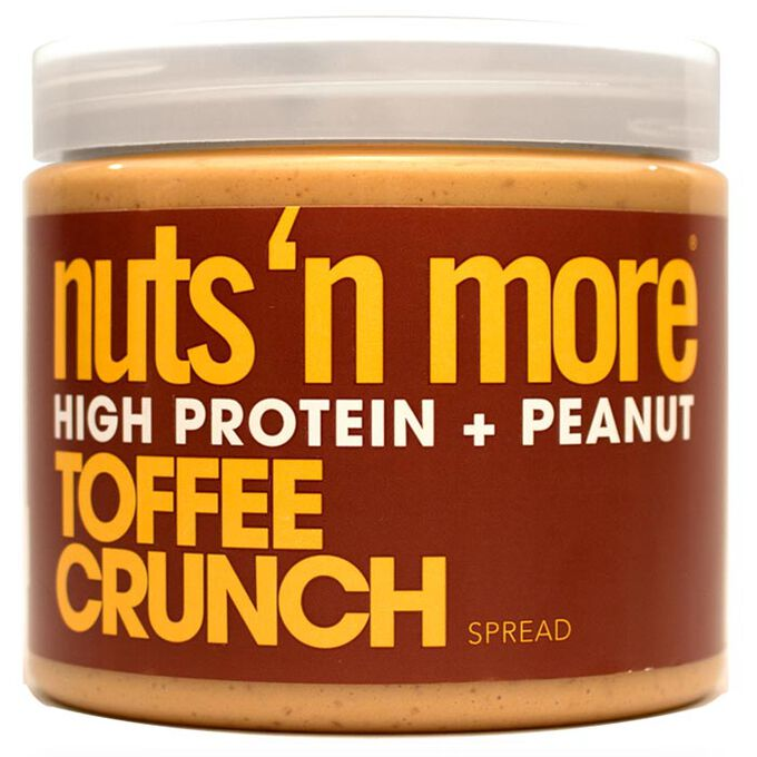 Nuts n More Toffee Crunch Peanut Butter 454g