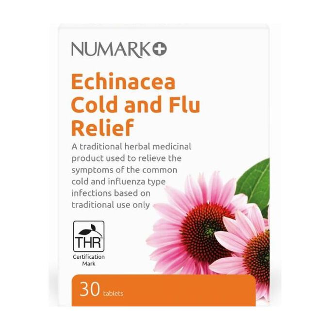 Echinacea Cold and Flu Relief 30 Tablets