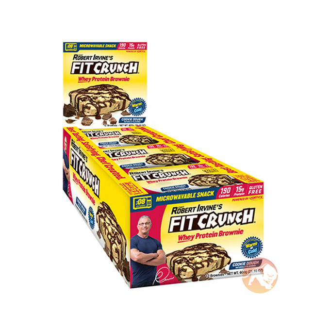 Fit Crunch Brownie 12 Bars Chocolate