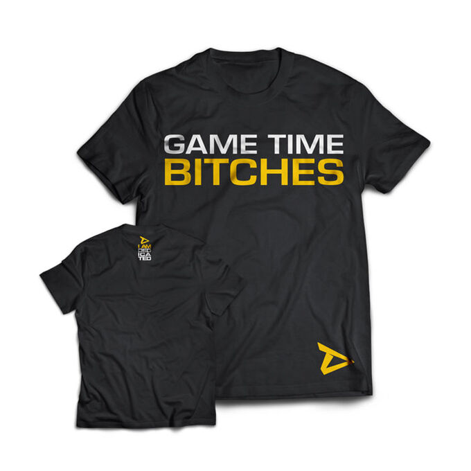 Dedicated Nutrition Dedicated T-Shirt Game Time Small