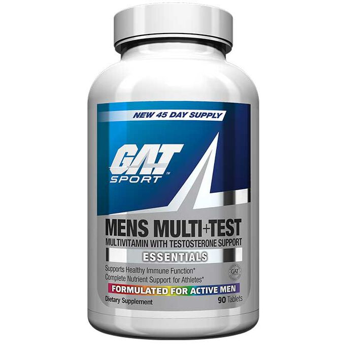 Mens Multi + Test 60 Capsules