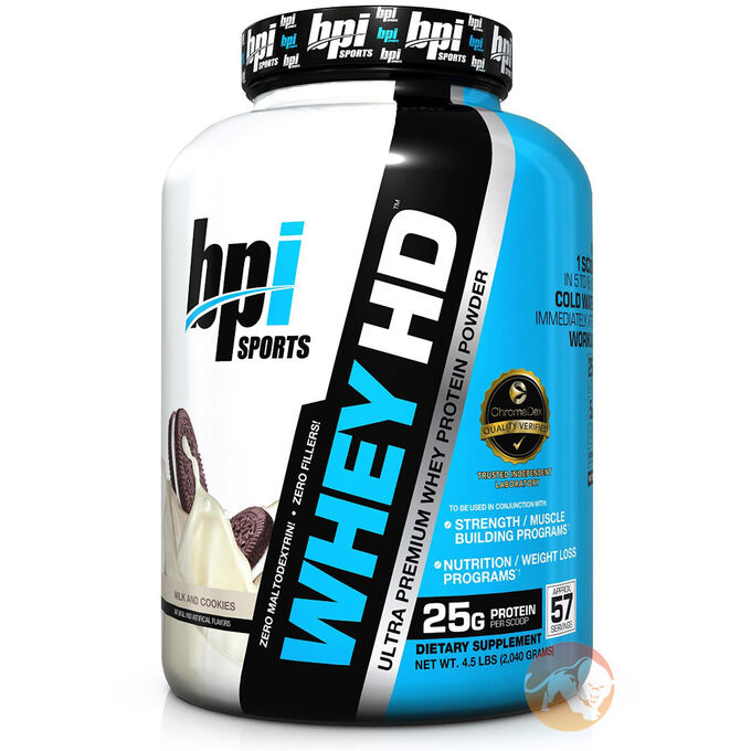 Whey-HD 907g Milk and Cookies