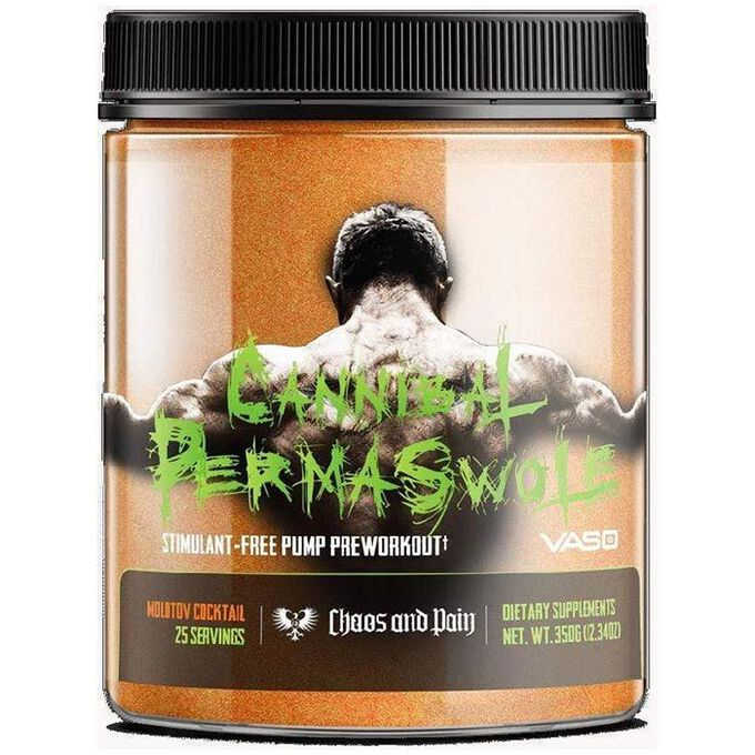Chaos & Pain Cannibal Permaswole 20 Servings Citric Bloodbath