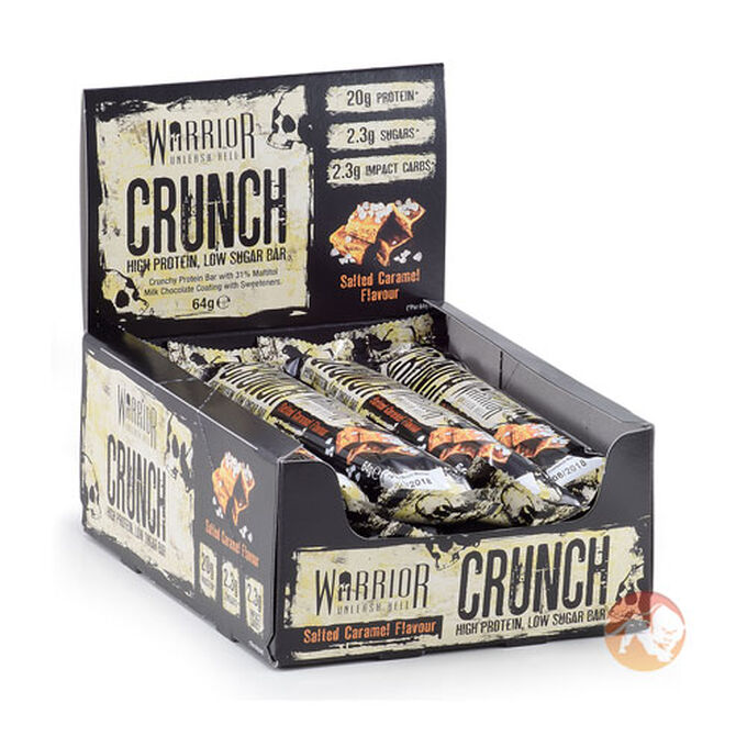Warrior Crunch 12 Bars Milk Chocolate Coconut