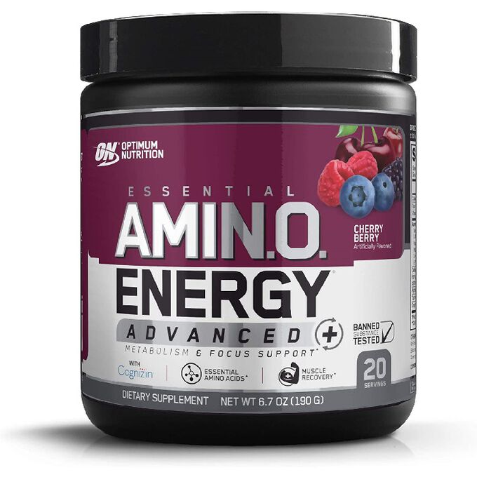 Optimum Nutrition Amino Energy Advanced 20 Servings Cherry Berry
