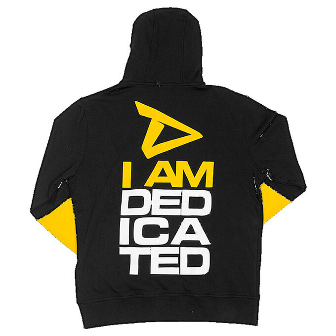 Dedicated Pull Over Hoodie I am Dedicated L