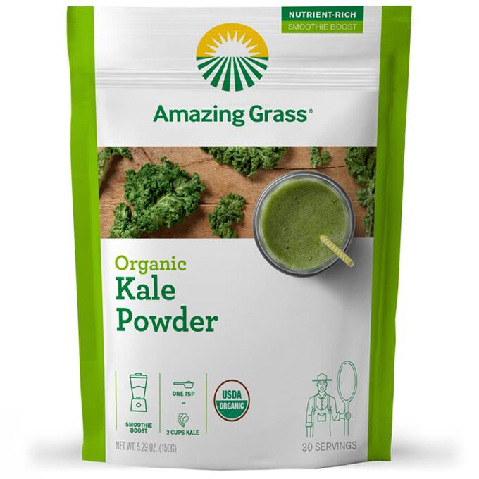 Amazing Grass Amazing Grass Organic Smoothie Booster 30 Servings Kale