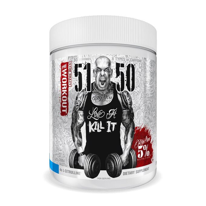 5% Rich Piana 5150 Legendary Series 30 Servings Blue Ice