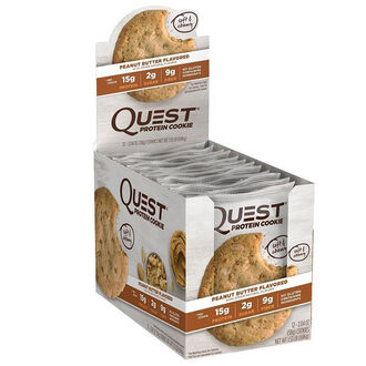 Quest Protein Cookie 12 Cookies Chocolate Chip