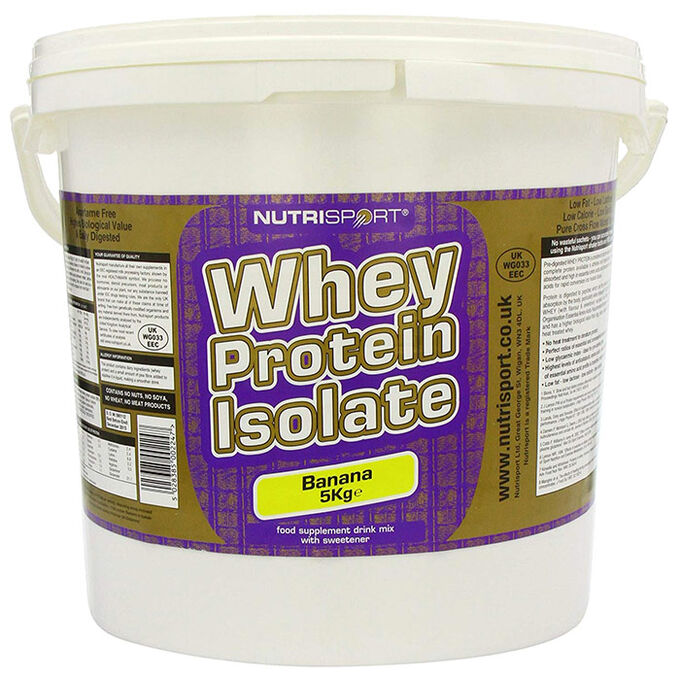 Nutrisport Whey Protein Isolate 5KG Chocolate