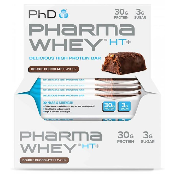 Pharma Whey HT+ 12 Bars Double Chocolate