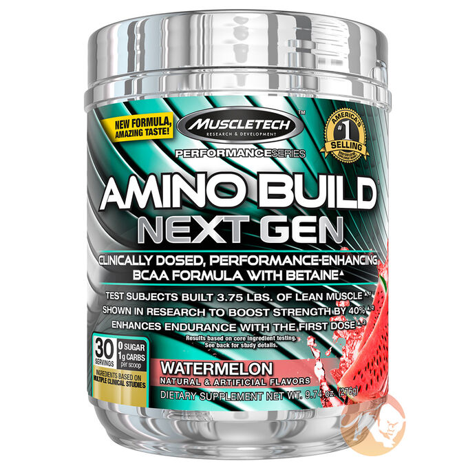 Muscletech Amino Build Next Gen 30 Servings Watermelon
