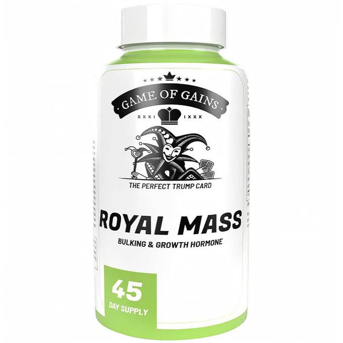 Game Of Gains Royal Mass 90 Capsules