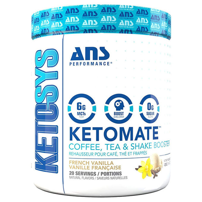 ANS Performance Ketomate 20 Servings French Vanilla
