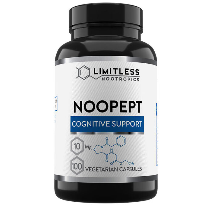 Limitless Nootropics Limitless Noopept 10mg 100 Capsules