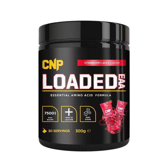 CNP Professional Loaded EAA 300g Strawberry Laces