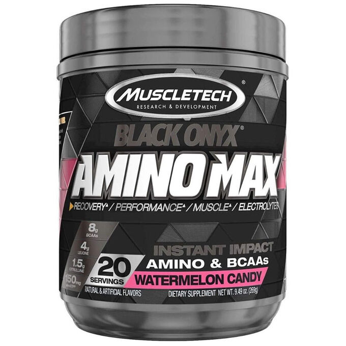 Muscletech Amino Max Black Onyx Watermelon Candy 20 Servings