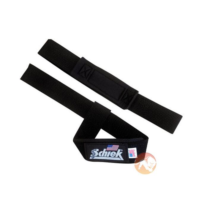 Schiek Padded Lifting Strap Black