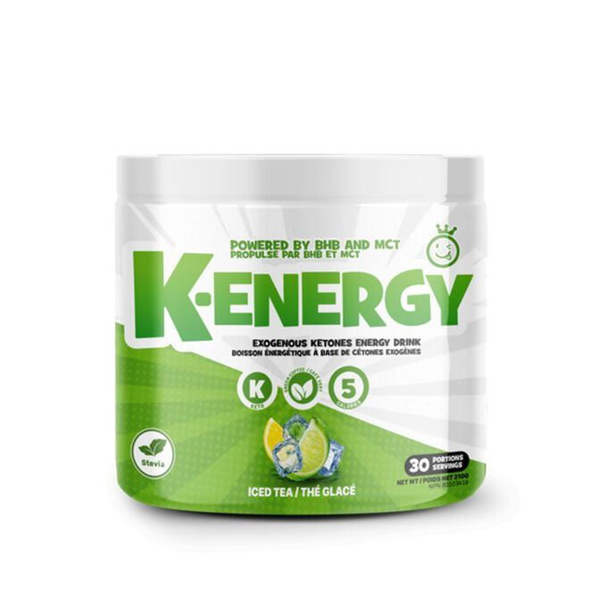 Yummy Sports K-Energy 30 Servings Iced Tea