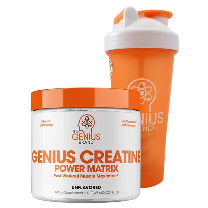 Genius Creatine 25 Servings Apple