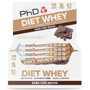 Diet Whey Bar 12 Bars Dark Chocolate Mocha