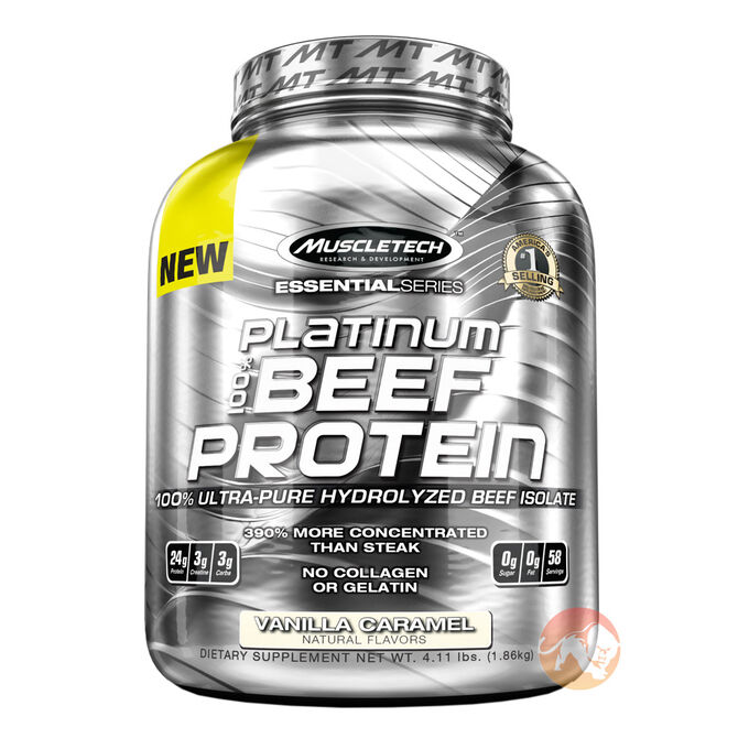 Platinum 100% Beef Protein 907g Double Dutch Chocolate