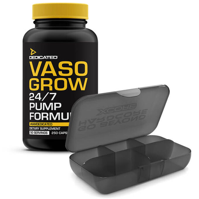 Dedicated Nutrition Vaso Grow 200 Capsules
