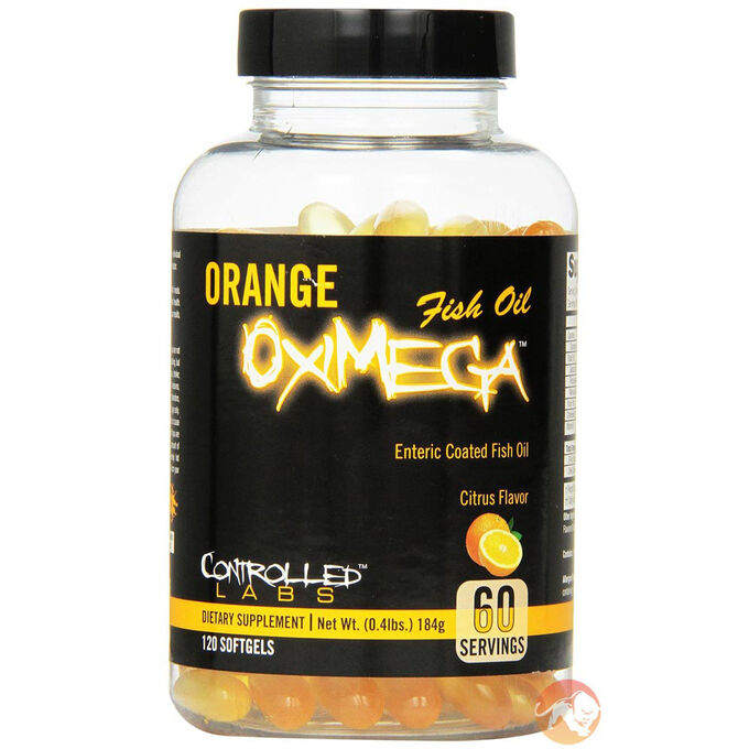 Controlled Labs Orange Oximega 120 Softgels