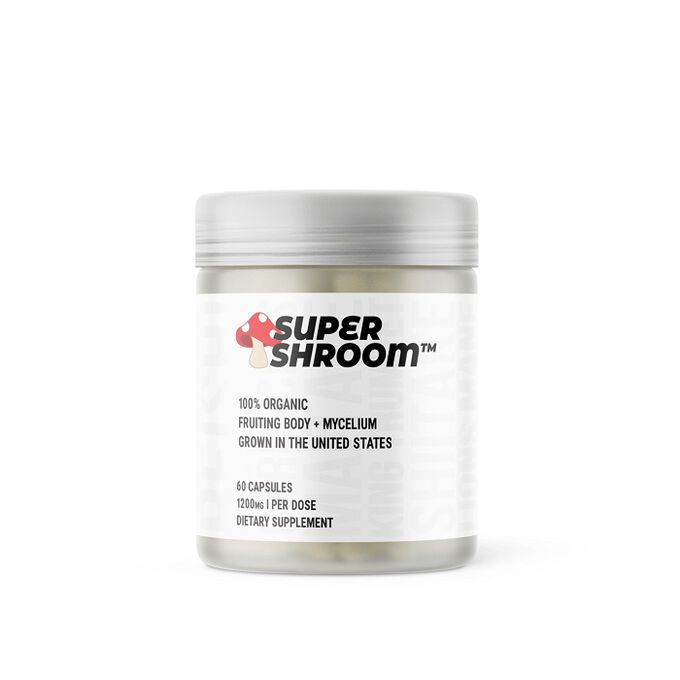 Glaxon SuperShroom 60 Capsules