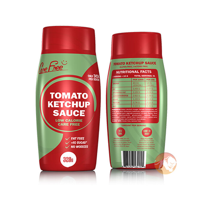 Care Free Care Free Sauce 320g Ketchup