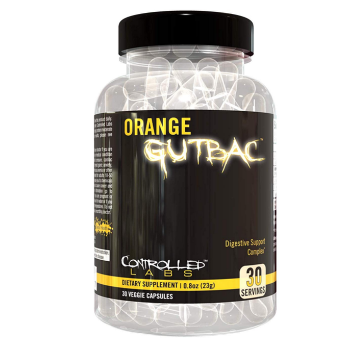 Controlled Labs Orange Gutbac 30 Capsules