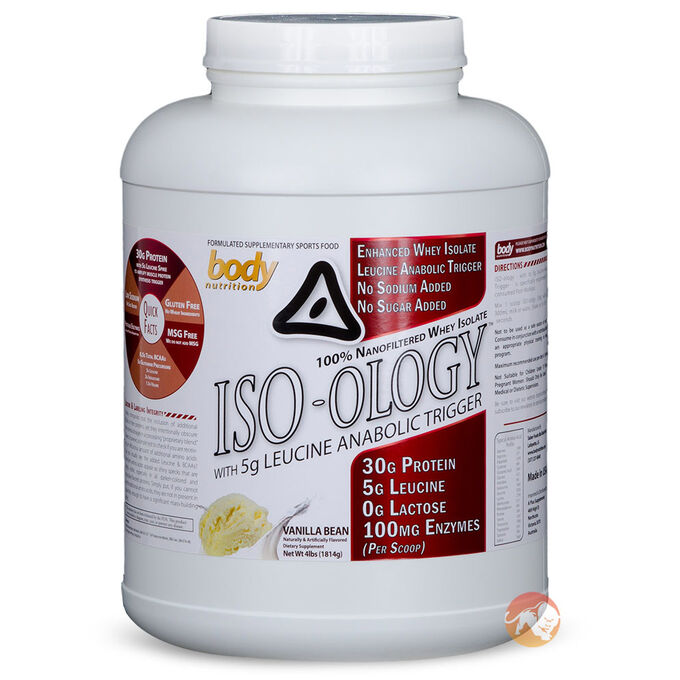 ISO-ology 4lb-Chocolate Peanut Butter