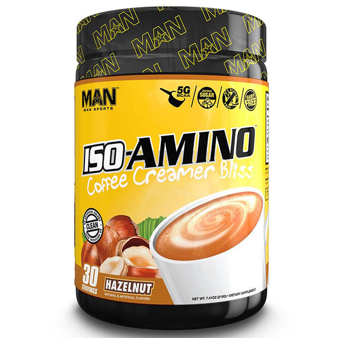 Iso-Amino Coffee Creamer 30 Servings Hazelnut