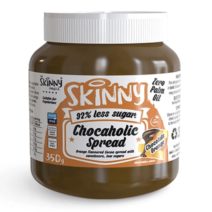 The Skinny Food Co Low Sugar Chocaholic Chocolate Orange Spread 350g