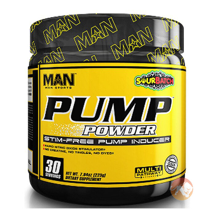 Man Sports Pump Powder 30 Sevings Blue Bombsicle
