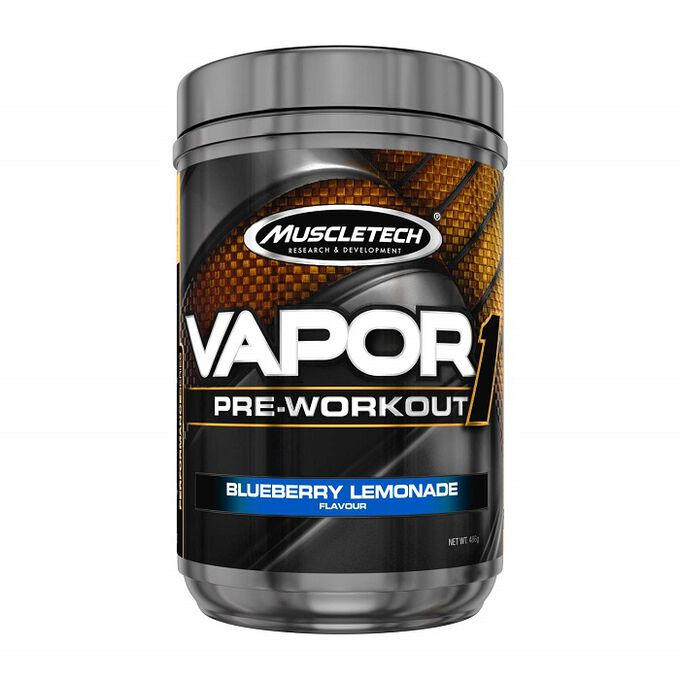 Muscletech Vapor1 20 Servings Blueberry Lemonade