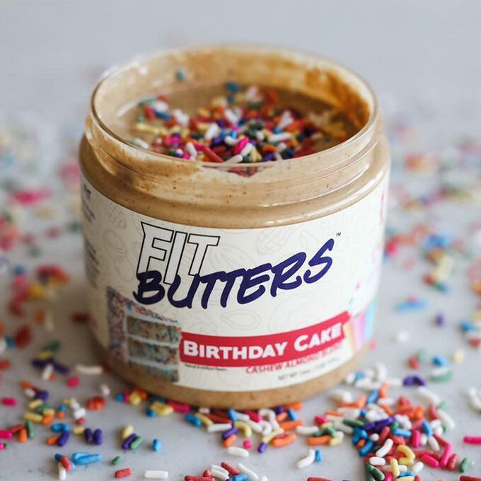 Fit Butters Fit Butters Birthday Cake Almond Butter 454g