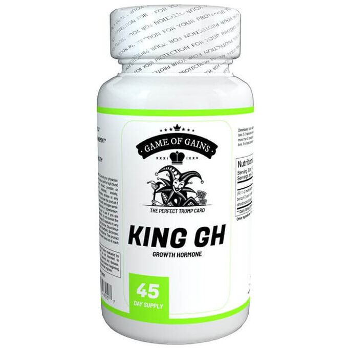 Game Of Gains King GH 90 Capsules
