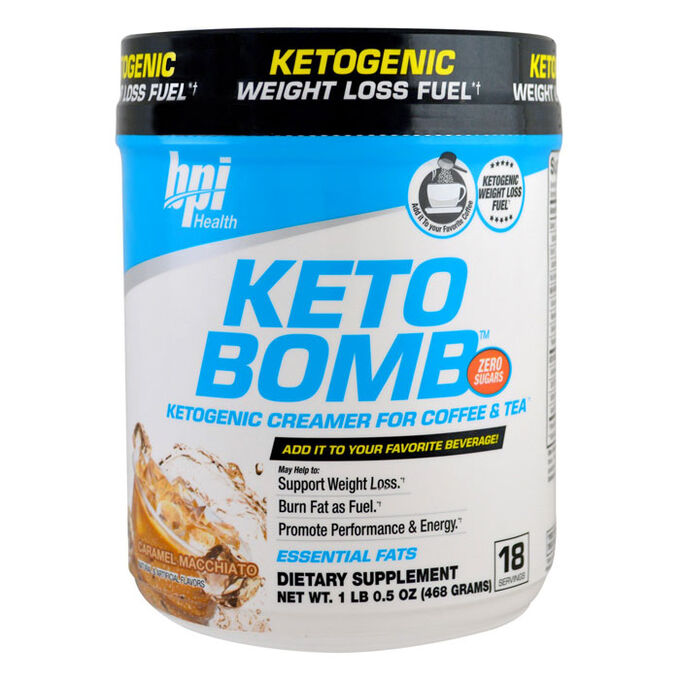 Keto Bomb 18 Servings French Vanilla Latte